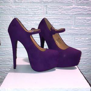 Sexy Purple platforms 7.5